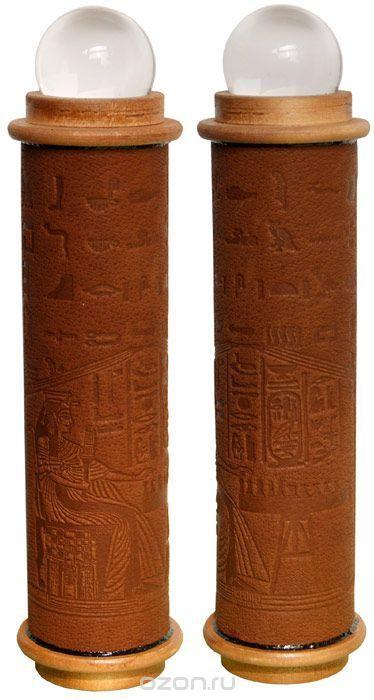 """Телейдоскоп """"Египет"""" (Авторский принт, фактурный рисунок, лак, стеклянный шар, зеркала, дерево). Ручная авторская работа."""