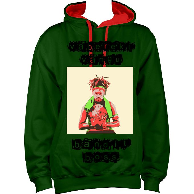 Dancehall clothing, Hoodies DanceHall Bandit Boss  Dancehall clothing: Seh Calaz Zimdancehall Bandit Boss Hoodie. Seh Calaz was 2017 Zimdancehall best dressed male artist.View more Dancehall clothing at AfricanSAttire.com