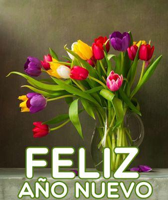 Hermosas Postales de Año Nuevo con Flores Para Compartir | Banco de Imágenes Gratis Hermosas Postales de Año Nuevo con Flores Para Compartir         |          Banco de Imágenes Gratis
