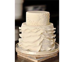 Beautiful Little Formal White Cake