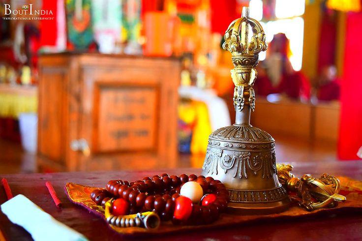 At Sakya Monastery, Kaza. #spitivalley #tourindia #boutindia #travel #india #adventuretravel #kaza #himachalpradesh