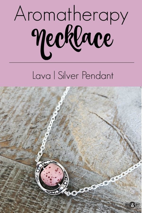 Pink Essential Oil Diffuser Necklace. A beautiful way to enjoy your favourite essential oils all day. #aromatherapynecklace #diffuserneckalce #lavastonenecklace