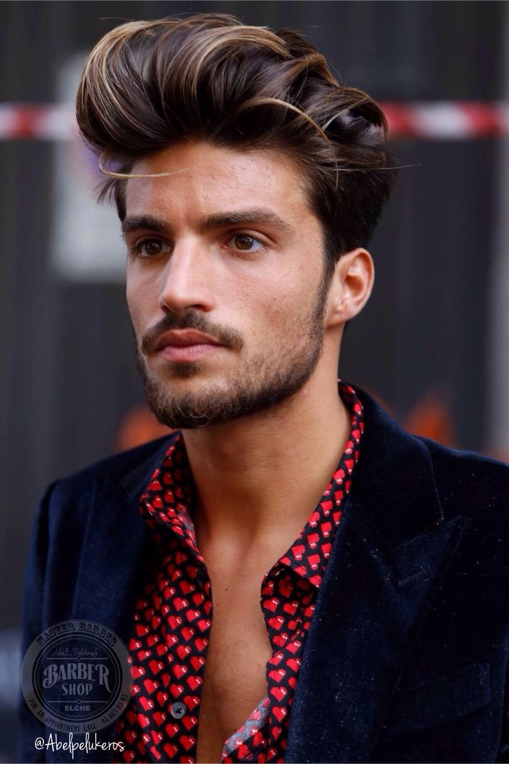 Hairstyle evolution the 40 best men s hairstyles in 40 years -  Abelpelukeros Elche Barber Shop Cortes De Pelo Masculinos Hombre Mens Undercut Cute Ideal Mens Hair Cut Hair Men S Fashion Boys With Sexy Hair