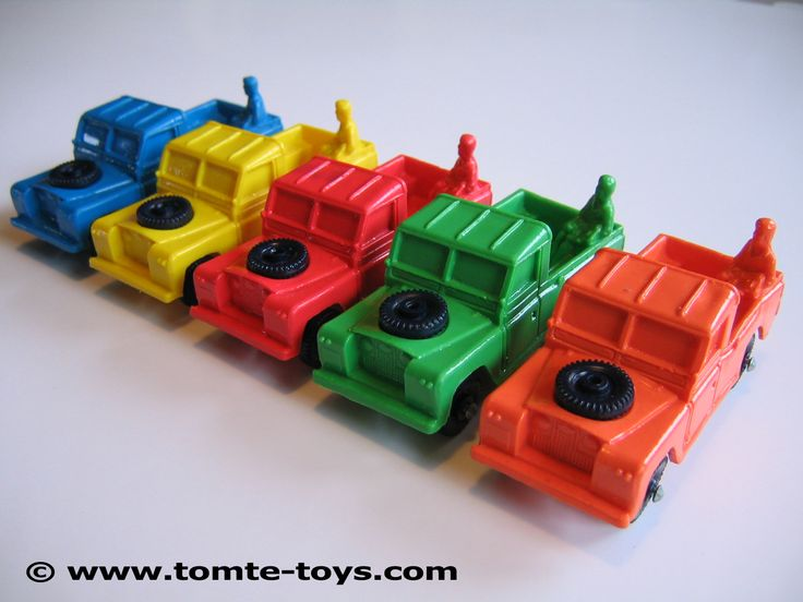 No. 750/23 - Land Rover Pick Up, 1971-1978 / Tomte Toys - Tomte Laerdal, Stavanger Norway