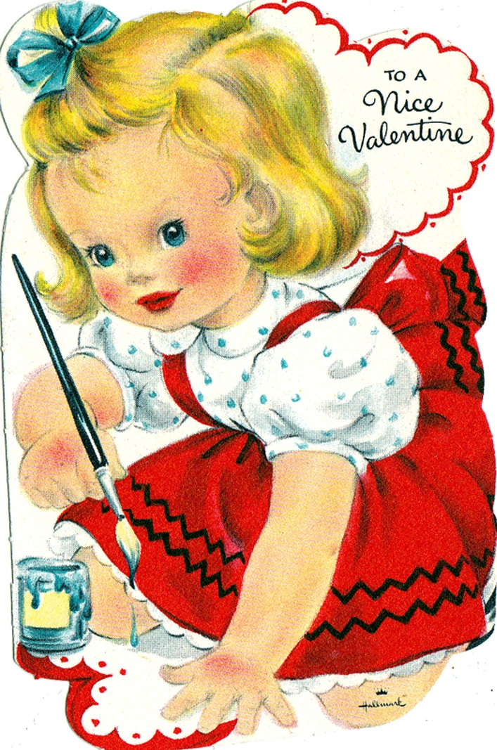 31 best images about Vintage Valentines Day cards – Japanese Valentine Cards