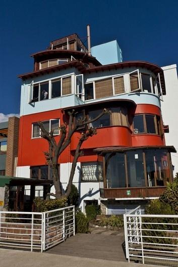 La sebastiana, casa de Pablo Neruda en valparaiso