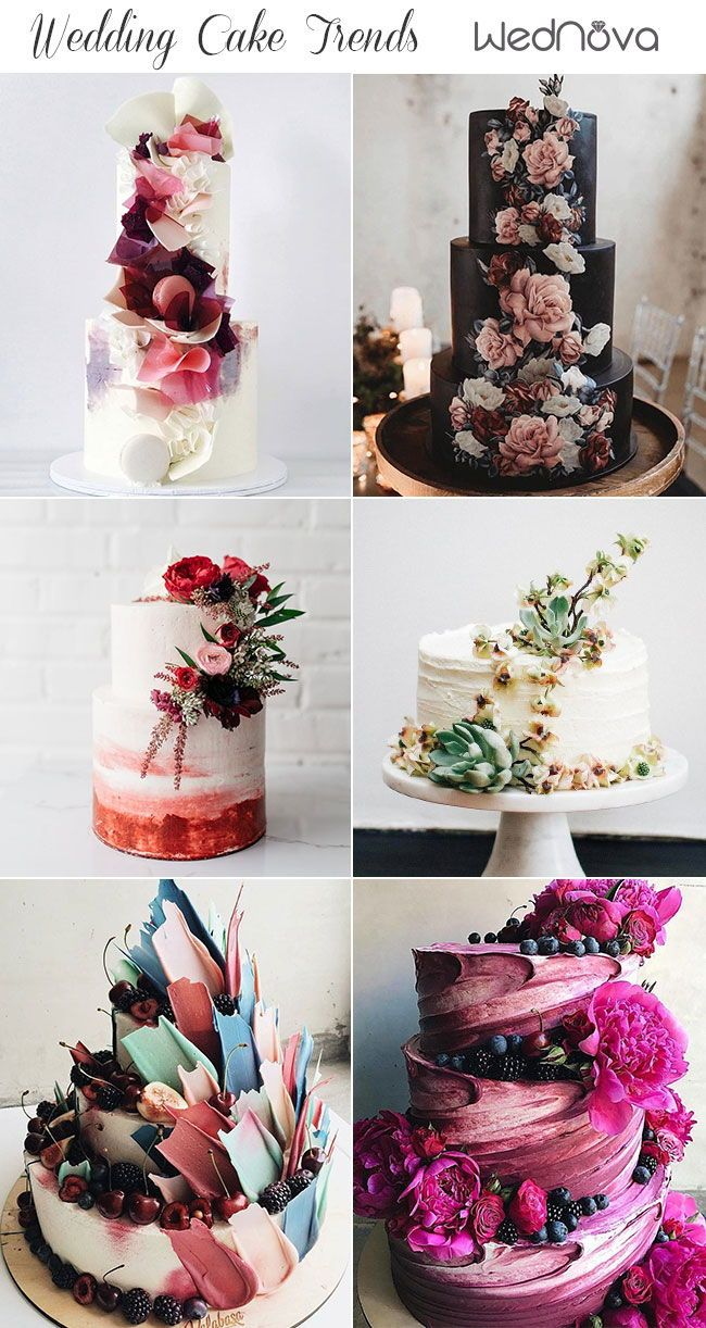 2019 Wedding Cake Trends To Inspire Your Big Day With Images
