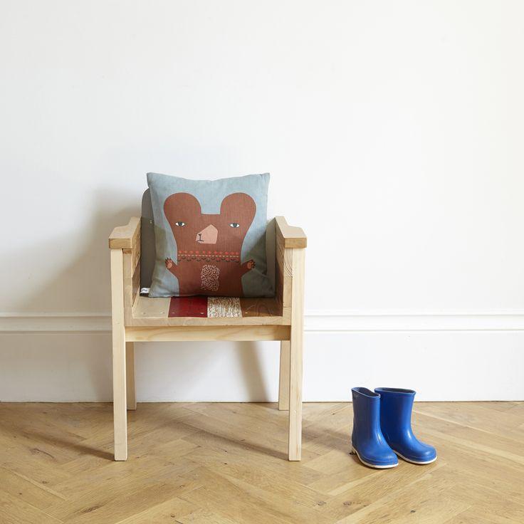 cushion, baby bear (cotton) | Galerie CO