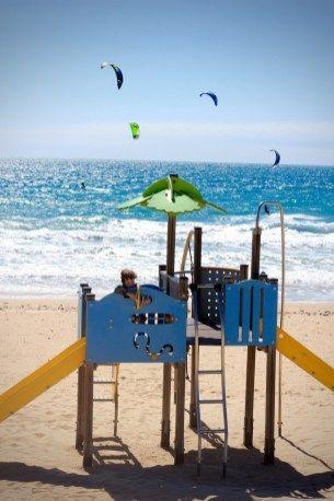 Playa de la Barrosa, Cadiz, Andalucia, Spain