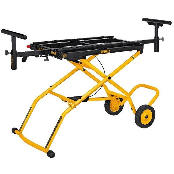 DEWALT DWX726 Rolling Miter Saw Stand, i bought this miter saw stand at last night. If you are looking for one, don't miss this article. #MiterSawStand #Tools