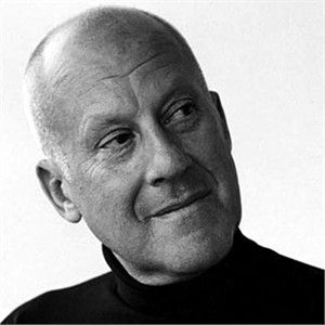 Norman Foster, architect of amazing light-filled, open, and reflective buildings.