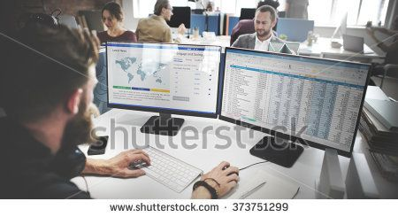 Businessman Working Analysis Accounting Concept