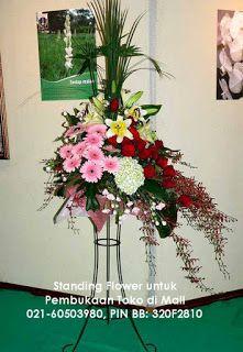 Pesan aneka karangan bunga dalam bentuk standing flower, bunga papan, bunga rangkaian meja, bunga mawar dalam vas dan bentuk-bentuk lainnya....