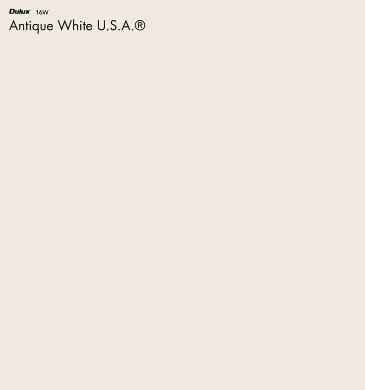 Dulux Antique White USA