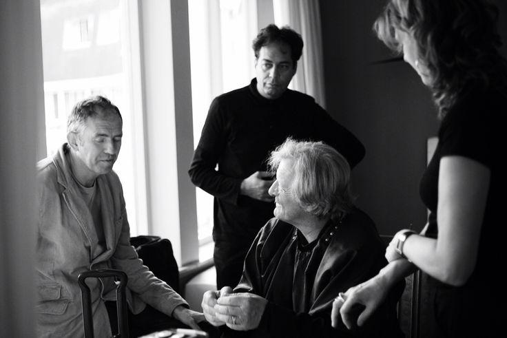 Anton Corbijn, Huub van Osch en Rutger Hauer. #antoncorbijn #huubvanosch #vosch #thebrandguide #rutgerhauer