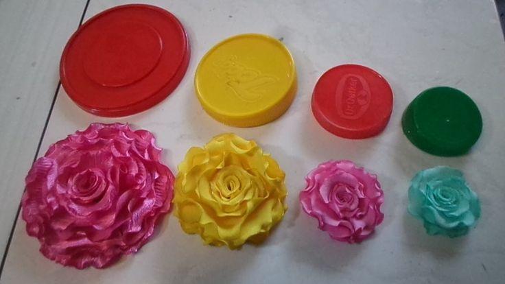 04 Flores de Tecidos Que Voçê vai Aprender de Forma Simples e Rápido par...