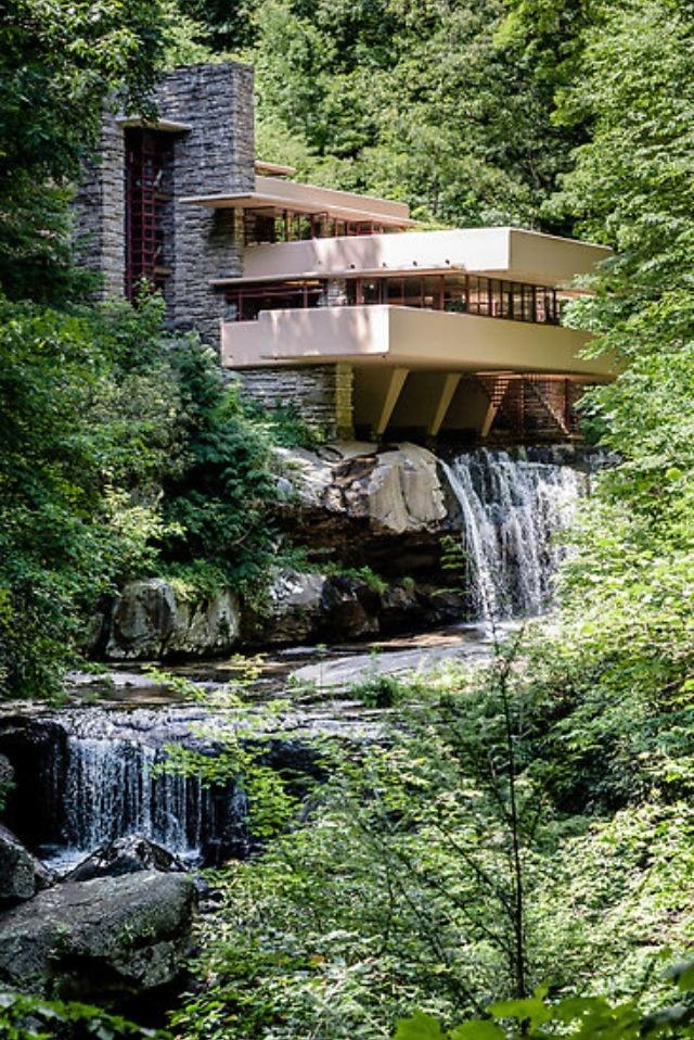 Frank Lloyd Wrigth. Falling water. Frank Lloyd WrightArchitecture DesignFalling  ...