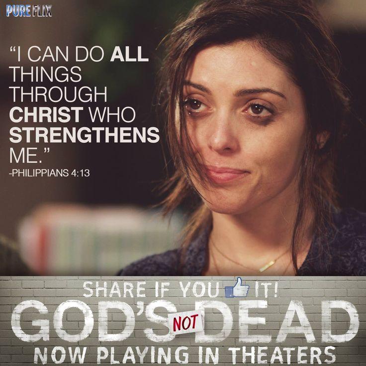 God's Not Dead - Hadeel Sittu as (Ayisha) in God's Not Dead now playing in theaters  - Pure Flix - Christian Movies - #PureFlix #ChristianMovies #HadeelSittu www.PureFlix.com www.GodsNotDead.com