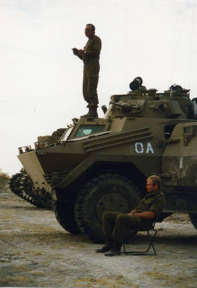 SADF Ratel 20 IFV during Border War.