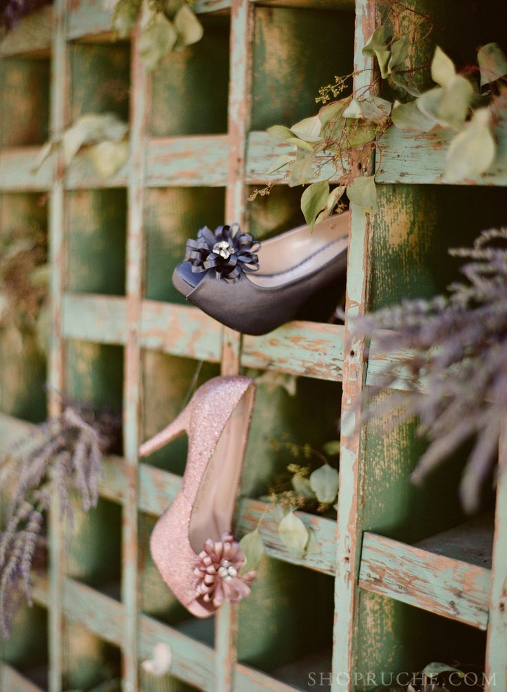 Sparkling bridal pumps. #bridal #shopruche #ruche
