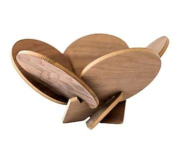 Frutero desmontable de madera de pino - 5 piezas