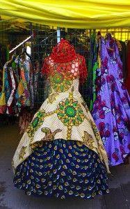 African Bazaar in Brooklyn   African Prints in Fashion