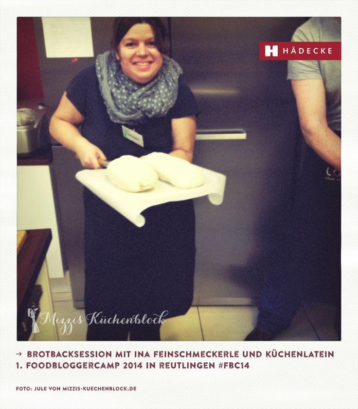 Brotbacksession mit @frau feinschmeckerle und @Kuechenlatein #fbc14 Foodbloggercamp in