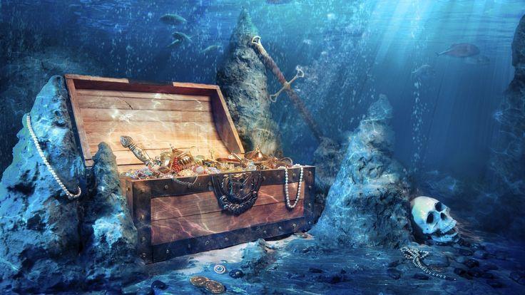 пиратский сундук с сокровищами - Поиск в Google