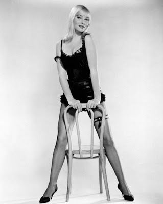 """Vintage Glamour Girls: May Britt in """" The Blue Angel """""""