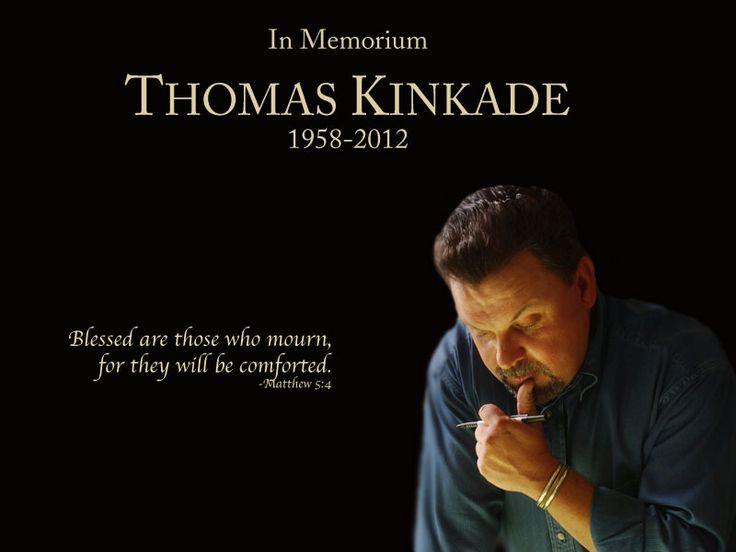 A beautiful mind, a talented man: Sad Day, Thomas Kincaid, Disney Paintings, Kinkade Art, Thomas Kincad, Thomas Kinkade, So Sad, Beautiful Mind, Ripped Thomas