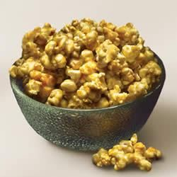 Classic Caramel Corn Allrecipes.com  This is fabulous!!!  Decreased the temp by 25 degrees.  Oh my... Mixed with spicy, and cheese.  Garretts watch out