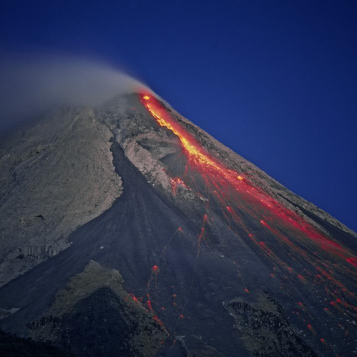 Mount Merapi , Central Java, Indonesia - Pixdaus