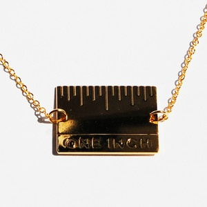 Give Me An Inch Necklace now featured on Fab.Inch Necklaces, Jewelry Lust, Gneek, Fab Com, Necklaces Gold, Accessories, Wear, Gold Filling, Products