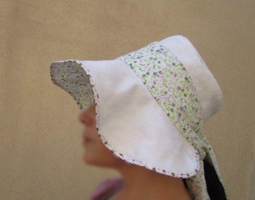 Sunhat - free sewing pattern