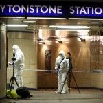 Knife attacks in London subway Leytonstone station