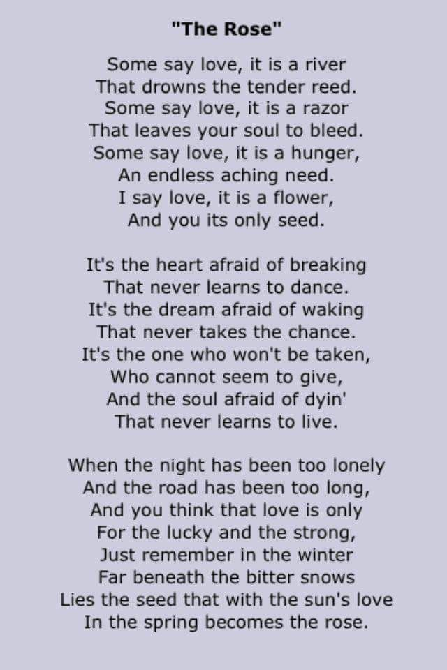 Always loved this song...