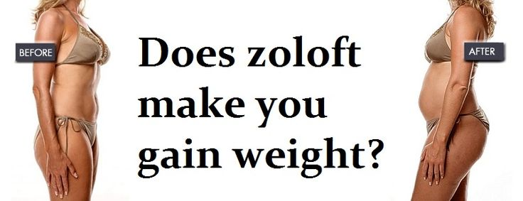 Does Zoloft Cause Weight Gain Yahoo