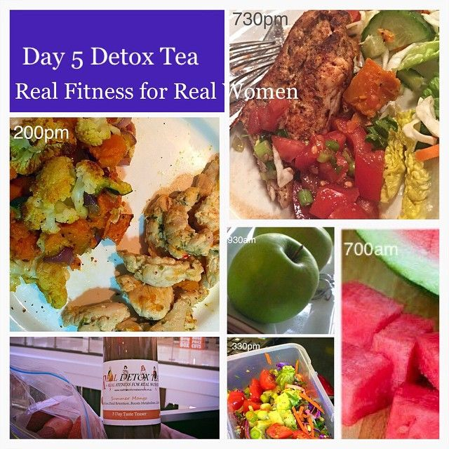 Day 5 Detox eating Fresh Real Food and following the Real Fitness Eliminate Eating Plan...Easy, effective and no portion control!!!!!