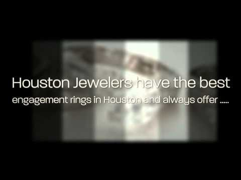 Engagement rings Houston | Jewelers Houston - YouTube