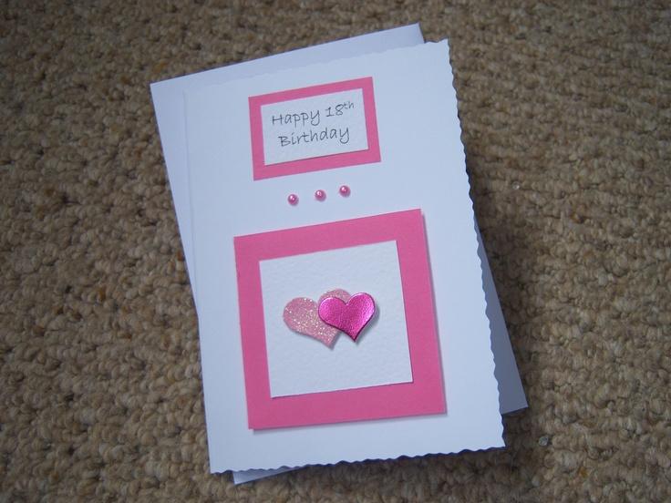 acatalog birthday bling hand made card