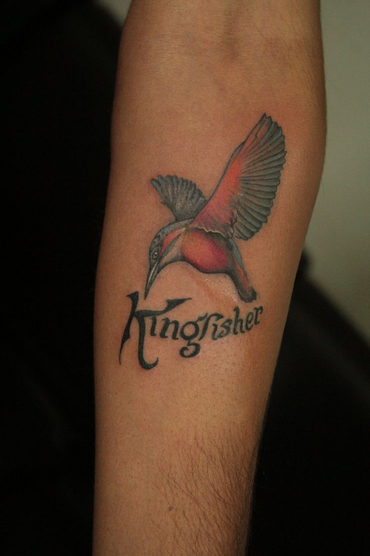 #Flying #Bird #Tattoo - #Kingfisher | Black Poison Tattoos ...