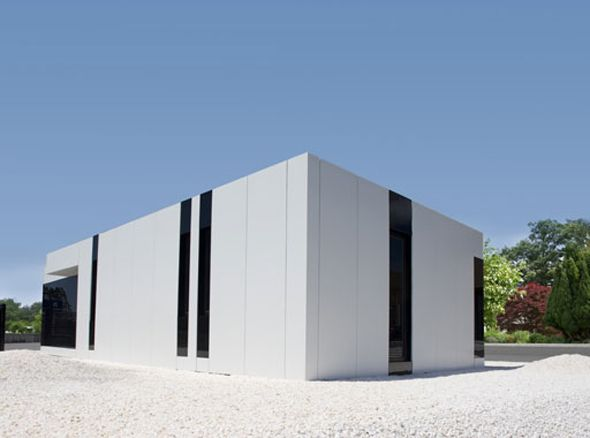 Modern Architect: Modern Elegant Sleek And Modern White Cube House By  A Cero Architecture | Arc | Pinterest | Modern Architects, Architecture And  Architects