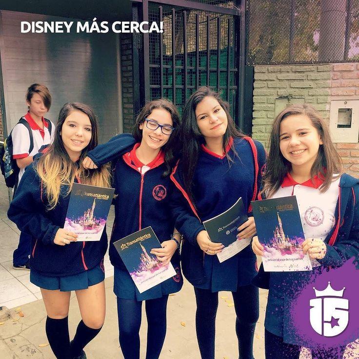 #Disney más cerca para las chicas de Natividad del Señor! #promoTeam2016 Enjoy Disney Enjoy Transatlántica!