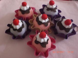 Ateliê Corujinha by Milinha: Cupcake