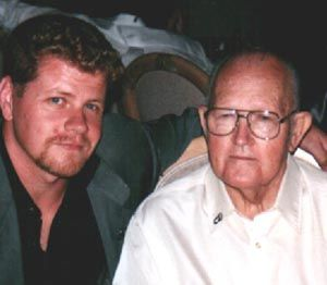 "Denver ""Bull"" Randleman and the actor who portrayed him, Michael Cudlitz"