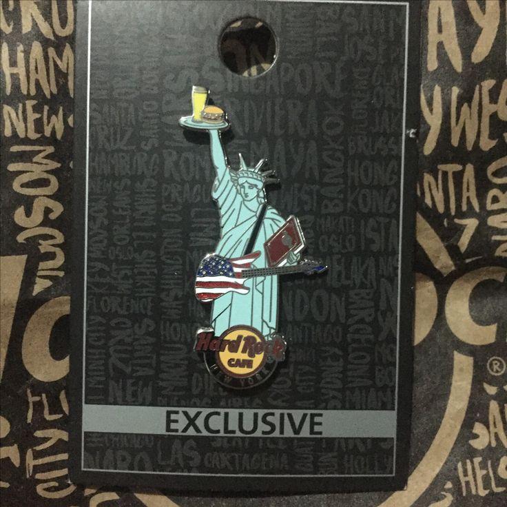 Hard Rock Pin USA New York Exclusive HRC Liberty City Pin Core NYC