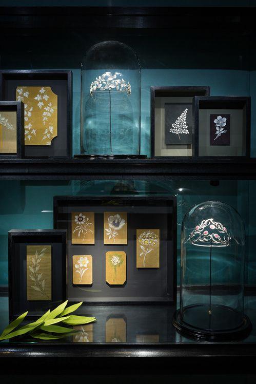 Les bijoux vintage du musee ephemere de Chaumet