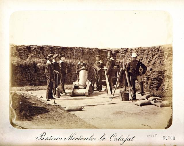 Romanian Mortar Battery in Russo-Turkish War 1877-78 [640x510] #HistoryPorn…