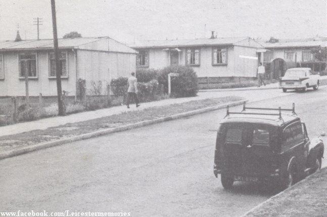 Prefabs (Hinckley Road?) | by Leicester Memories
