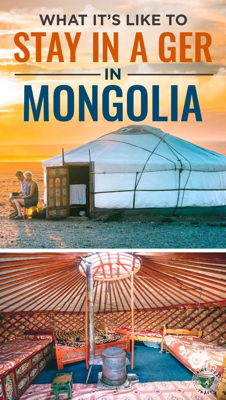 Traveling to Mongolia? Check out what it's like to stay in a Ger, a traditional type of housing used by Mongolian nomads.